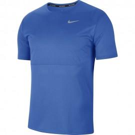Nike Maglia Running Miler Blu Grigio Uomo