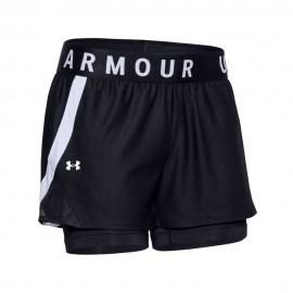 Under Armour Pantaloncino Palestra Elastic Nero Donna