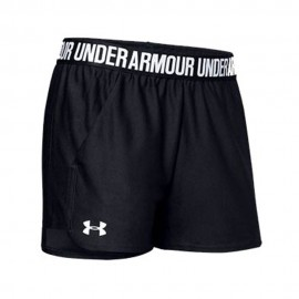 Under Armour Pantaloncino Palestra Play Up Nero Donna