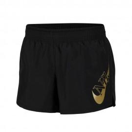 Nike Short Running Icon Clash 10k Gx Nero Metallico Donna