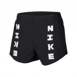 Nike Pantaloncini Running Tempo Icnclsh Nero Donna