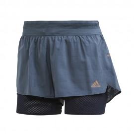 ADIDAS pantaloncini running heat.rdy legacy blue donna