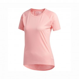 ADIDAS maglia running 25 7 rise up rosa donna