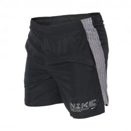 Nike Pantaloncini Running 7in Chllgr Ff Nero Uomo