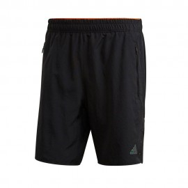 ADIDAS pantaloncini running 2in1 saturday ultra nero uomo