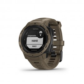Garmin Gps Trekking Instinct Tactical Marrone