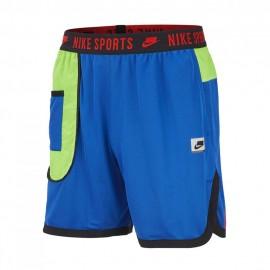Nike Pantaloncino Palestra Wovent Sport Pack Blu Donna