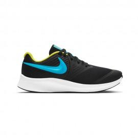 Nike Sneakers Star Runner 2 Gs Nero Blu Bambino