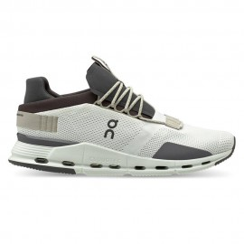 On Sneakers Cloudnova Sabbia Grigio Uomo