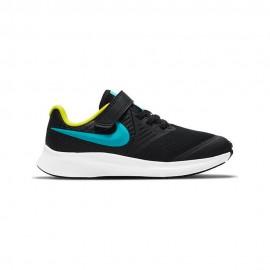 Nike Sneakers Star Runner 2 Psv Nero Blu Bambino
