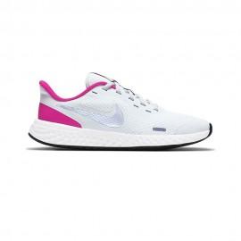 Nike Sneakers Revolution 5 Gs Grigio Argento Bambino