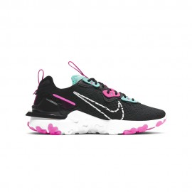 Nike Sneakers React Vision Grigio Rosa Donna