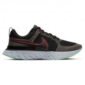Nike Scarpe Running React Infinity Flyknit 2 Nero Rosso Uomo