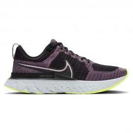 Nike Scarpe Running React Infinity Run Flyknit Nero Donna