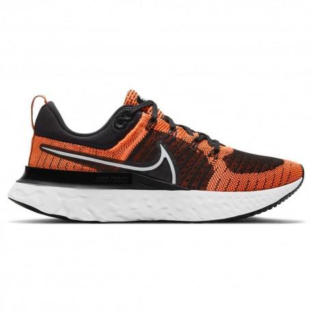 Nike Scarpe Running React Infinity Run Flyknit Arancio Donna