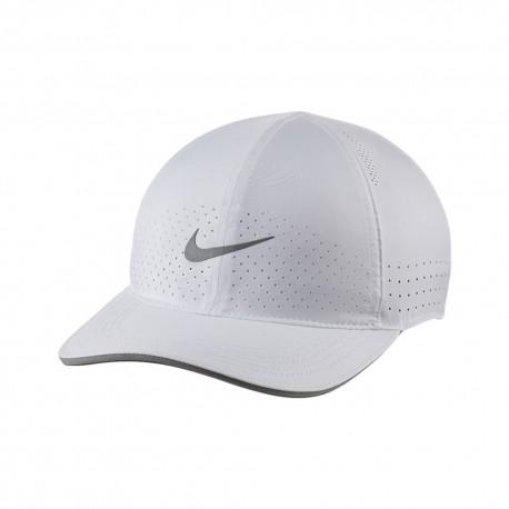 Nike Cappello Running Arobill Dry Bianco