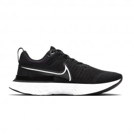 Nike Scarpe Running React Infinity Run 2 Nero Bianco Donna
