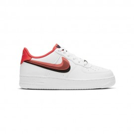 Nike Sneakers Air Force 1 Lv8 Gs Bianco Crimson Bambino