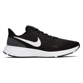 Nike Scarpe Running Revolution 5 Nero Bianco Donna