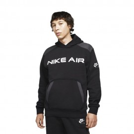 Nike Felpa Con Cappuccio Nike Air Nero Uomo