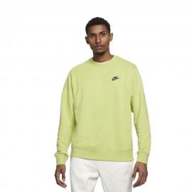 Nike Felpa Girocollo Move To Zero Giallo Uomo