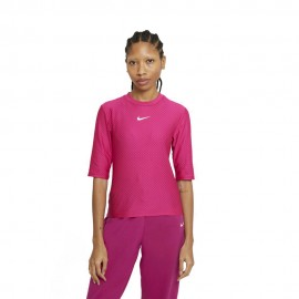 Nike T-Shirt Icon Clash Fucsia Donna