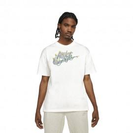 Nike T-Shirt Move To Zero Avorio Uomo