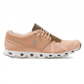 On Sneakers Cloud Rosa Bianco Donna