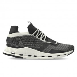 On Sneakers Cloudnova Nero Bianco Donna
