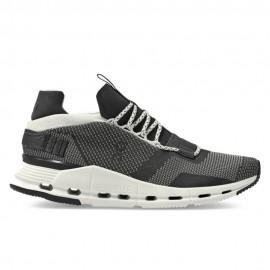 On Sneakers Cloudnova Nero Bianco Uomo