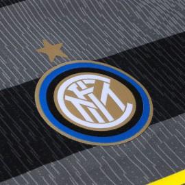 Nike Maglia da Calcio Inter Stadium Terza Grigio Giallo Bambino