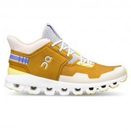 On Sneakers Cloud Hi Edge Ocra Bianco Uomo