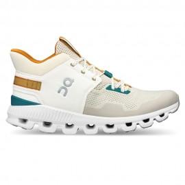 On Sneakers Cloud Hi Edge Bianco Grigio Uomo