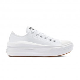 Converse Sneakers All Star Move Platform Ox Bianco Donna
