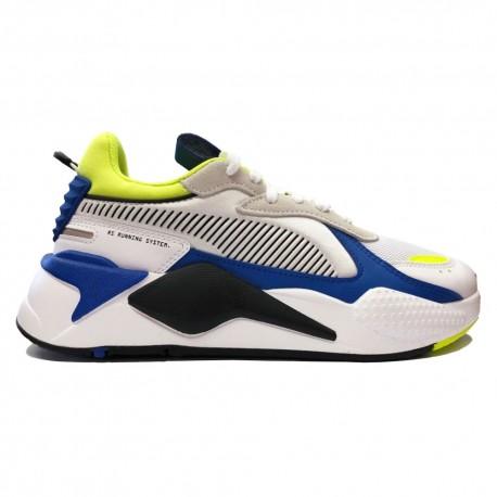 Puma Sneakers Rs-X Mix Bianco Royal Lime Uomo
