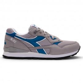 Diadora Sneakers N.92 Grigio Blu Uomo