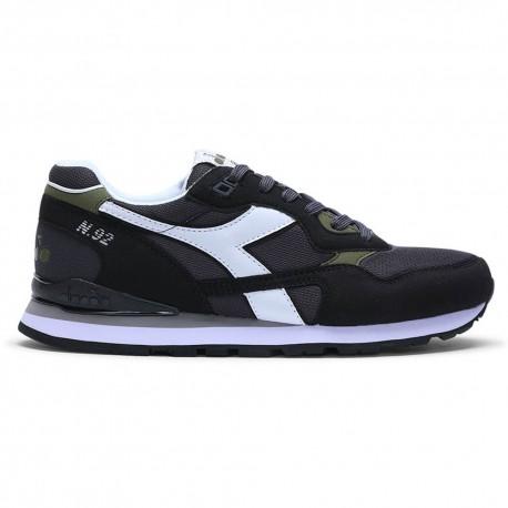 Diadora Sneakers N.92 Nero Bianco Uomo