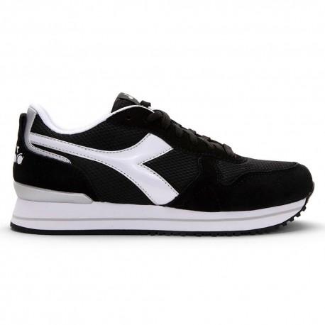 Diadora Sneakers Olympia Platform Nero Bianco Donna