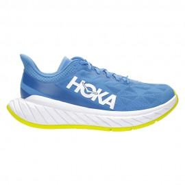 Hoka Scarpe Running Carbon X 2 Blu Giallo Uomo