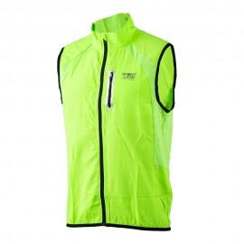 Sportland Gilet Running Marathon Verde Uomo