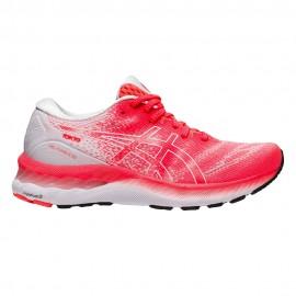 Asics Scarpe Running Gel-Nimbus 23 Tokyo Bianco Rosso Donna