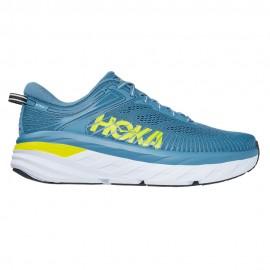 Hoka Scarpe Running Bondi 7 Blu Giallo Uomo