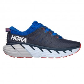 Hoka Scarpe Running Gaviota 3 Blu Bianco Arancio Uomo