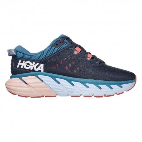 Hoka Scarpe Running Gaviota 3 Blu Rosa Donna