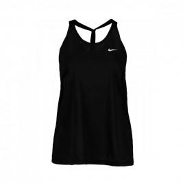 Nike Canotta Palestra Elastika Nero Donna