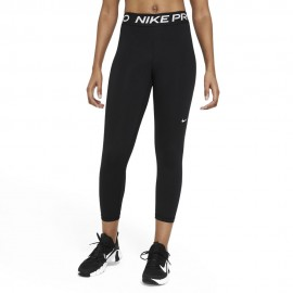 Nike Leggings Sportivi Crop Pro Nero Donna