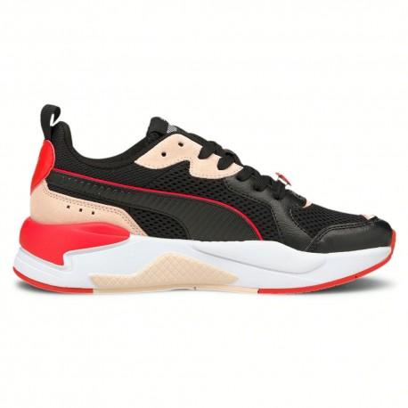 Puma Sneakers X-Ray Game S. Valentine Nero Rosso Donna