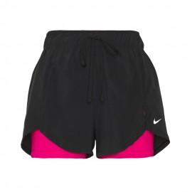 Nike Shorts Sportivi 2 In 1 Nero Donna