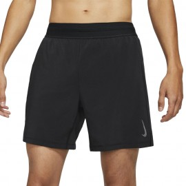 Nike Shorts Sportivi 2 In 1 Yoga Nero Uomo