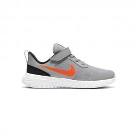 Nike Sneakers Revolution 5 Psv Grigio Arancio Bambino